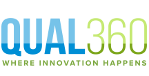 Logo QUAL360 Europe – The leading qualitative market research conference